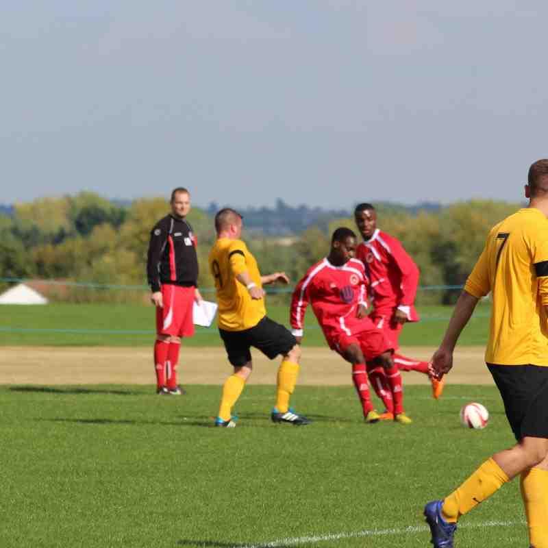 BTFC v Great Linford 13-9-2014