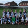 Under 13's Ravenettes (Derbyshire) lose to Woodlands 0 - 3