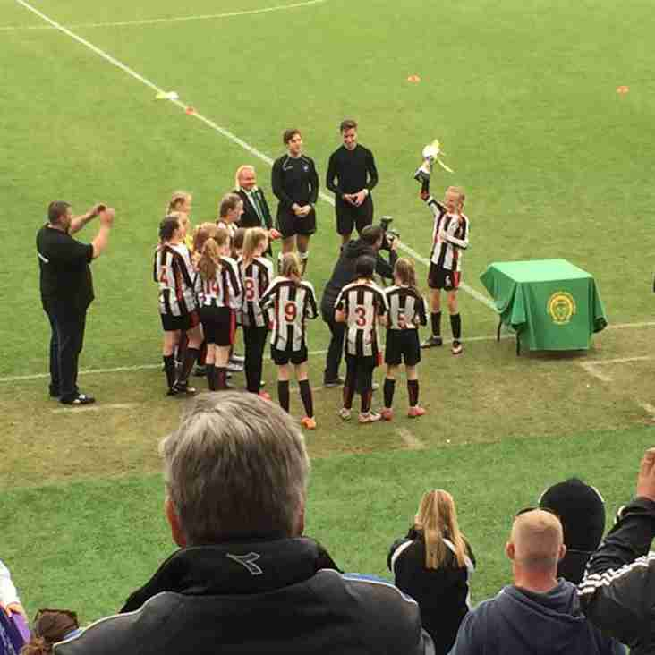 Under 13 Ravenettes Look Forward To Sundays County Cup Final