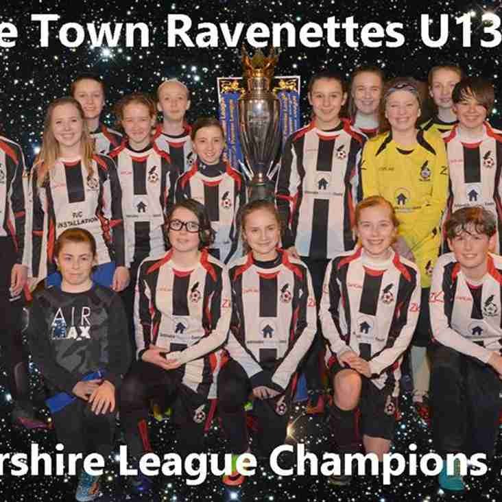 Ravenettes Secure Back To Back League Titles
