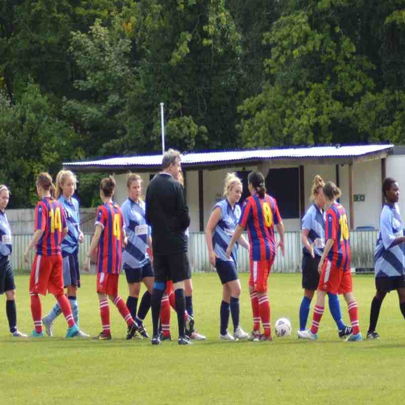 Ladies First Team v Tower Hill - 13th September 2015