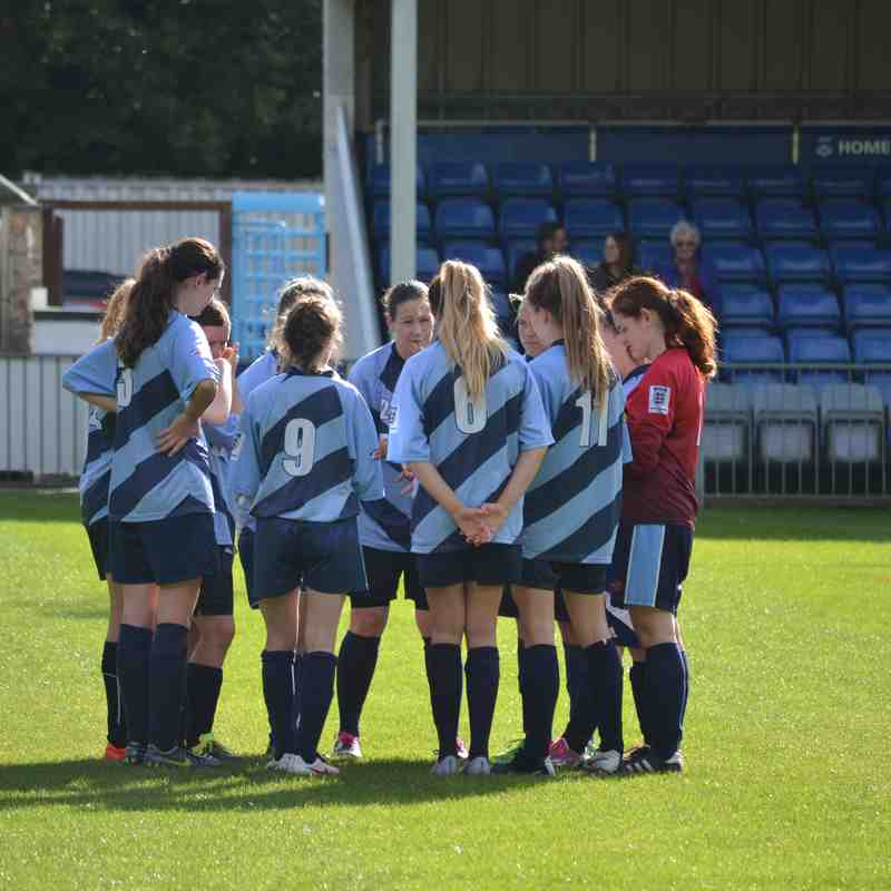 Ladies First Team v Bournmouth Electric 17/10/16