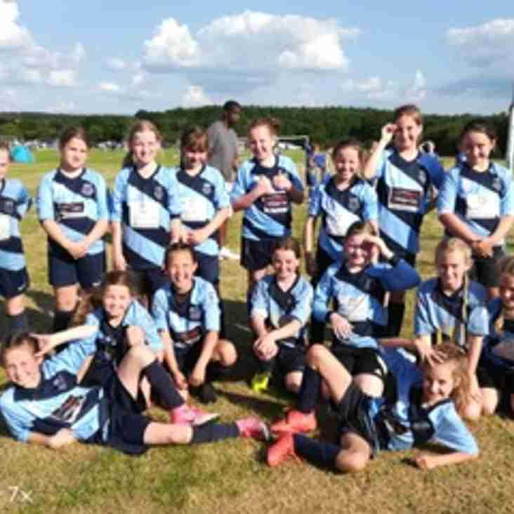 U10 Tornadoes and Bluebirds on fire in Basingstoke Tournament