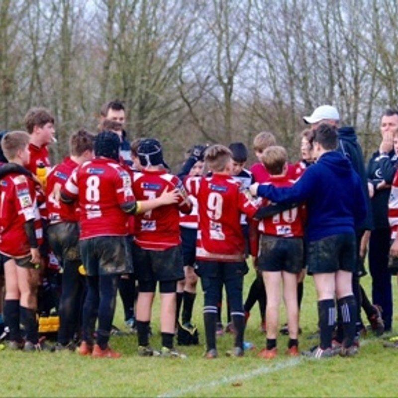 Under 14s lose to Ampthill RFC 49 - 14