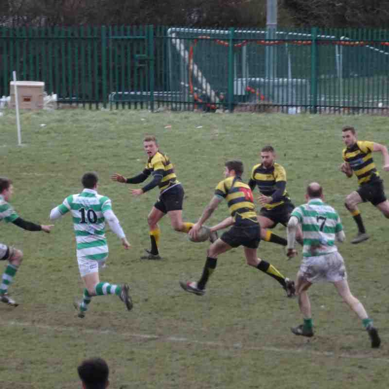 Consett vs Gosforth 28/02/2015