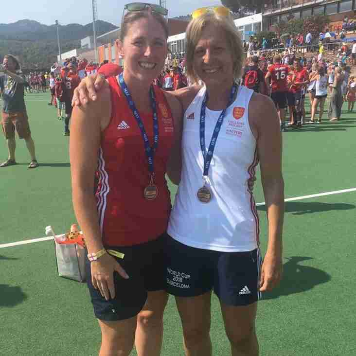 Sutton players bring back double World Cup bronze