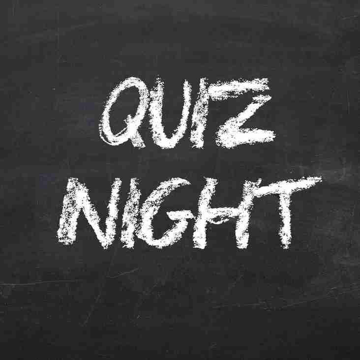 13th October family quiz night