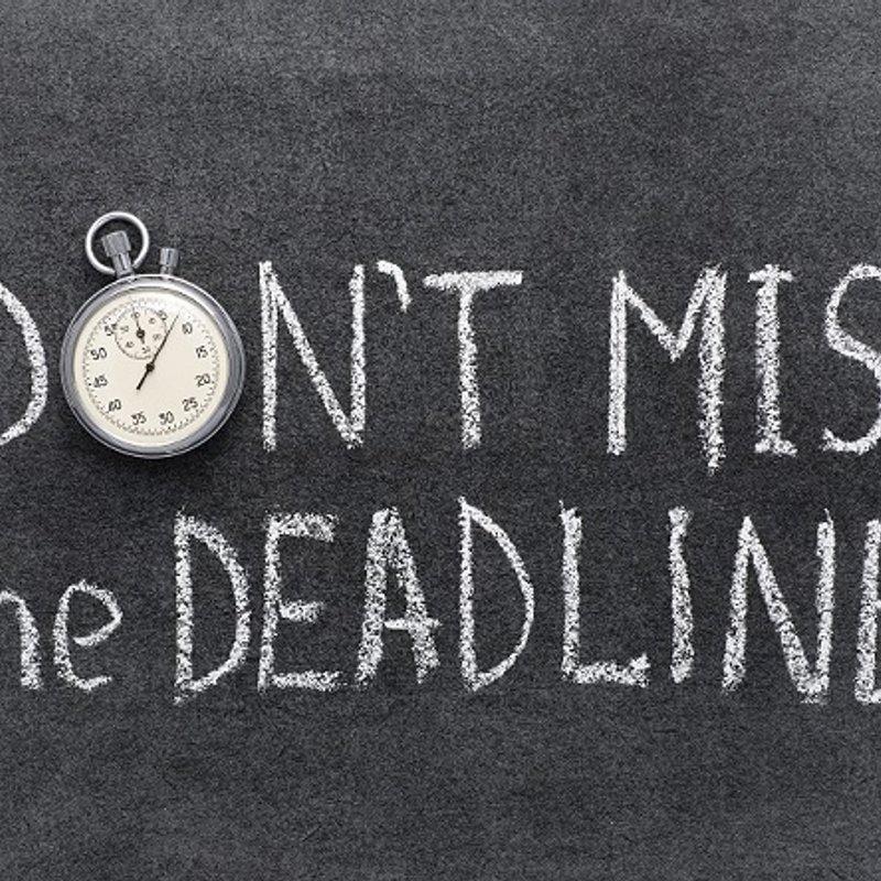 Men's & Badgers Subscriptions deadline 14 October