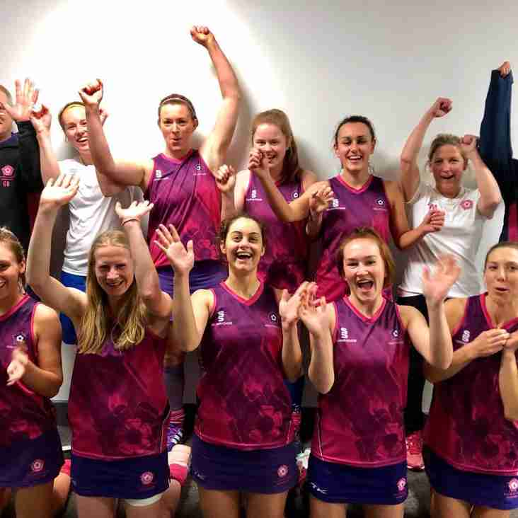Mighty Pinks win indoor promotion