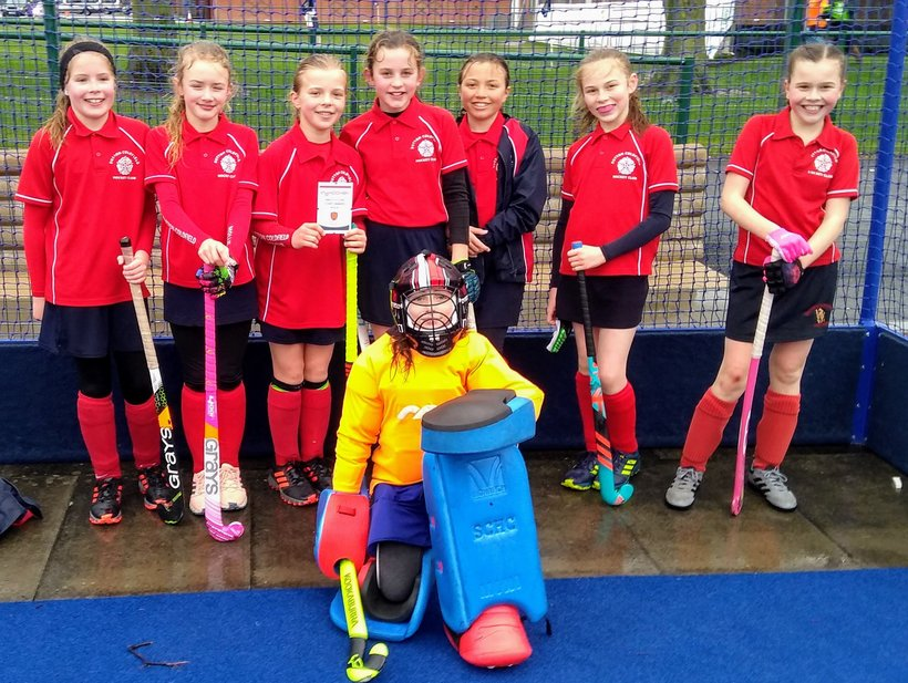 Success For Sutton At Warwickshire U12 In2hockey Tournament 2019