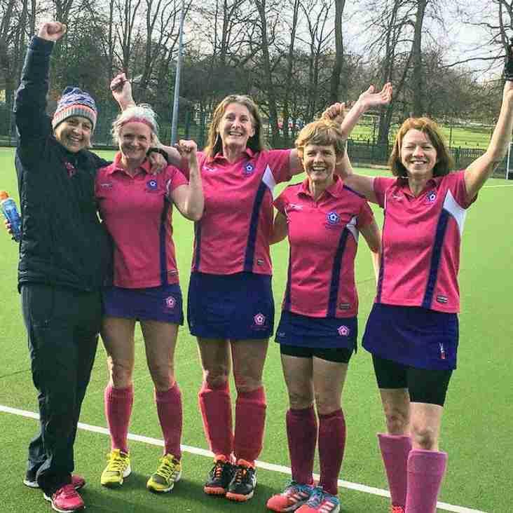 Ladies into O45 Tier 1 Championship Final