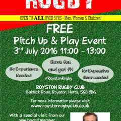 Pitch Up & Play - 3rd July 2016, 1100 - 1300