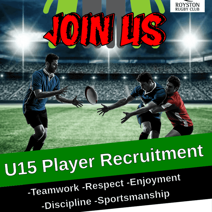 U15 Player Recruitment