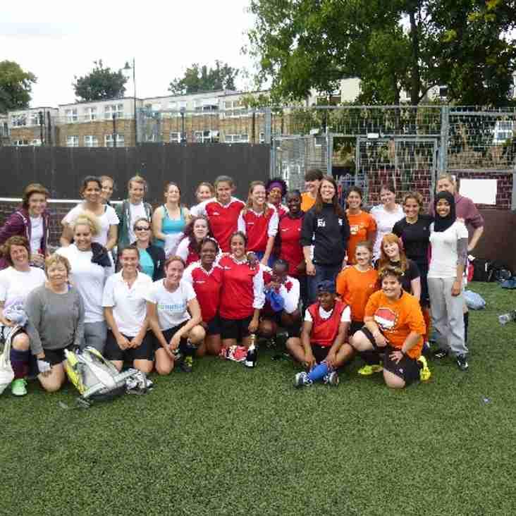 Wanderers WFC 5 aside football tournament a big success