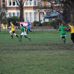 1st XI v Leek and potatoes - 16th January 2016