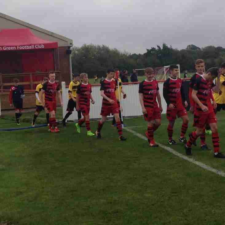 U16s travel to Brackley Town