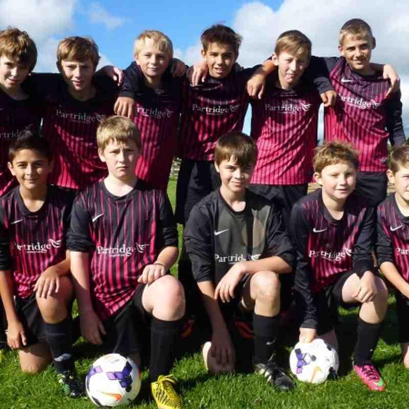 U14's squad 2013-2014