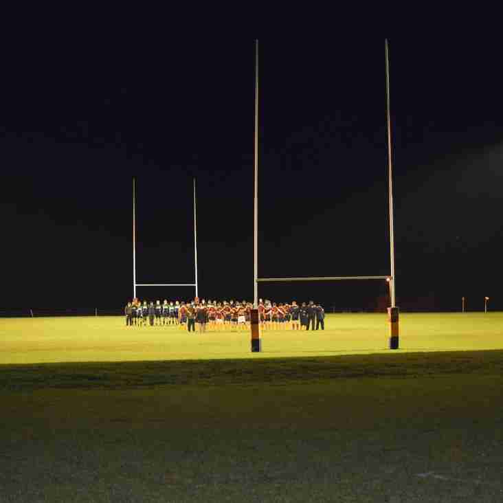 U15s to play under the floodlights 11 Oct 2017