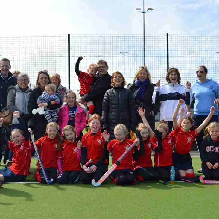 U10's Complete at the Midland Championships