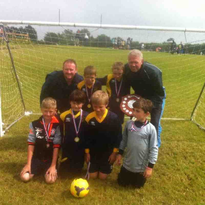 Fair Play Festival, Shefford. Winners U9's Red.