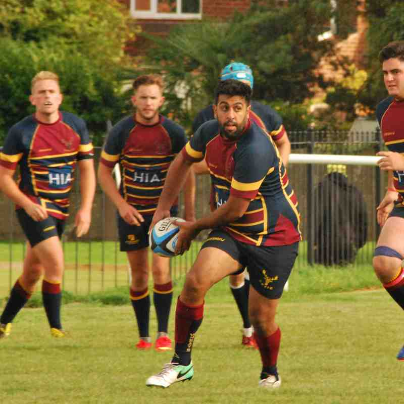Manor Park vs. Old Wheatleyans Sept 2017