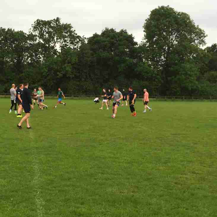 Good start to Summer Touch at the Pightle with 20+turning out
