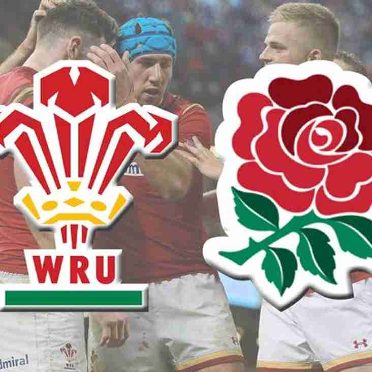 Wales vs England at the Pightle