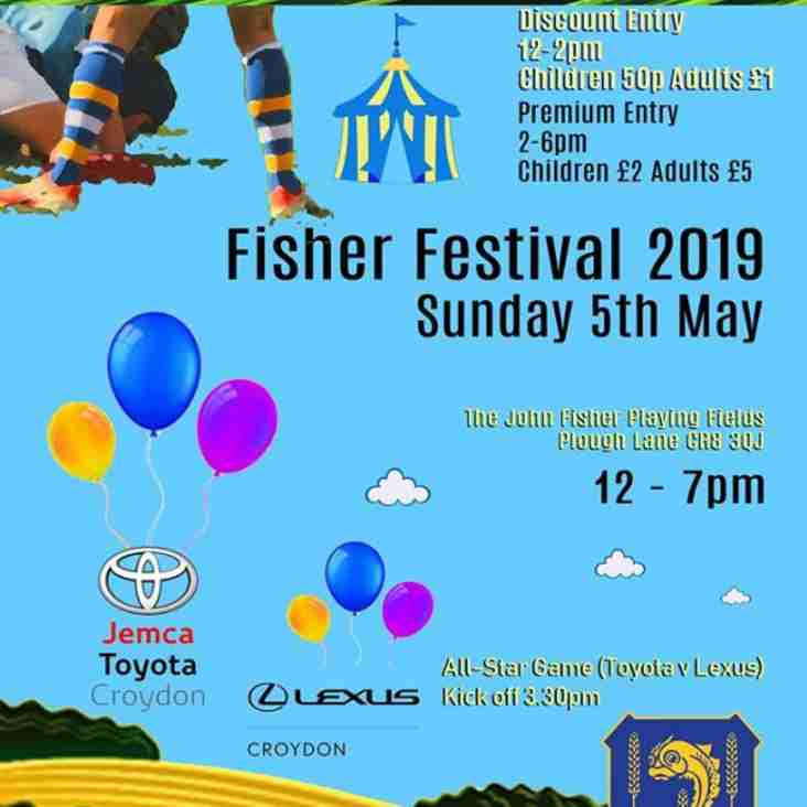 This Sunday - The Fisher Festival
