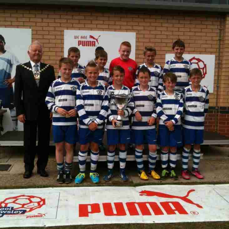 Maghull u12 blue win Puma International LK Cup Final