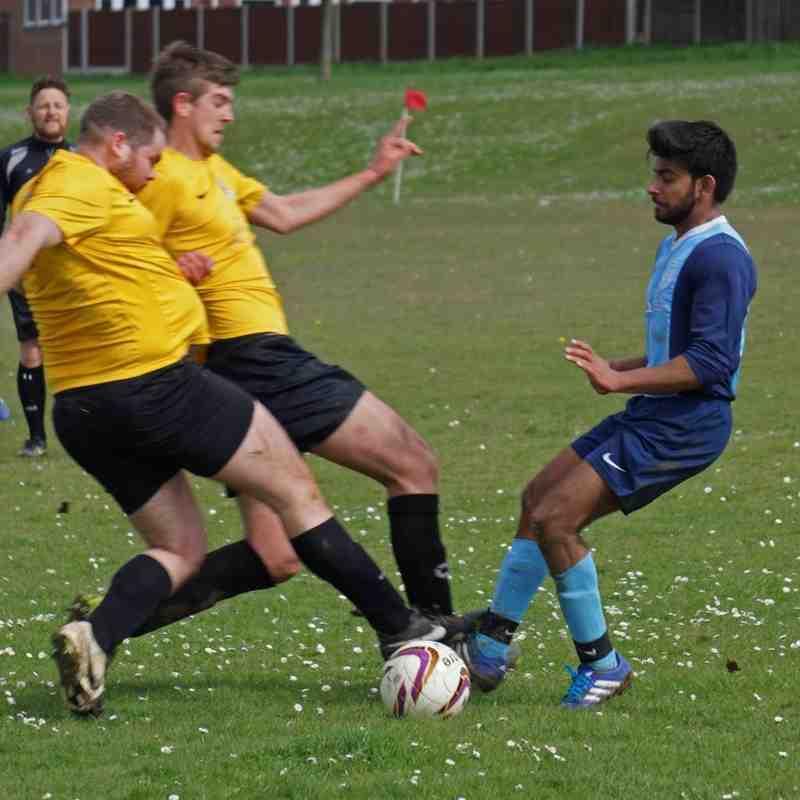 FC Hitchin vs Stotfold Lions 17/04/16