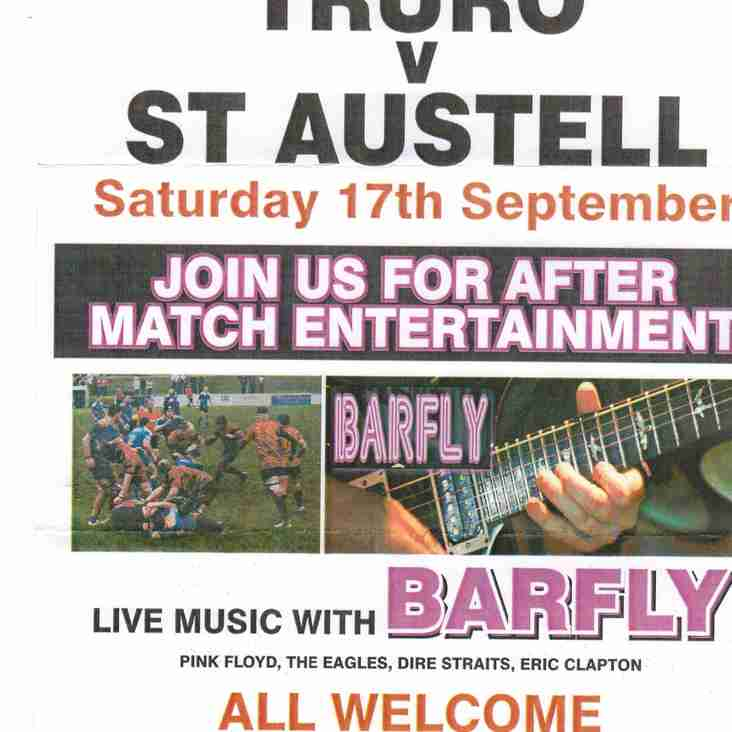 Truro V St Austell 17th September