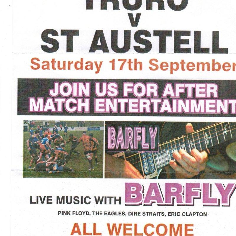 Truro V St Austell 17th September