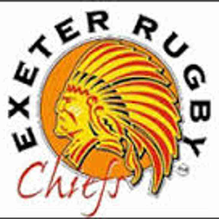 Exeter Chiefs Half-term Rugby Camp @ Truro Rugby Club Monday 23rd October 10-3pm