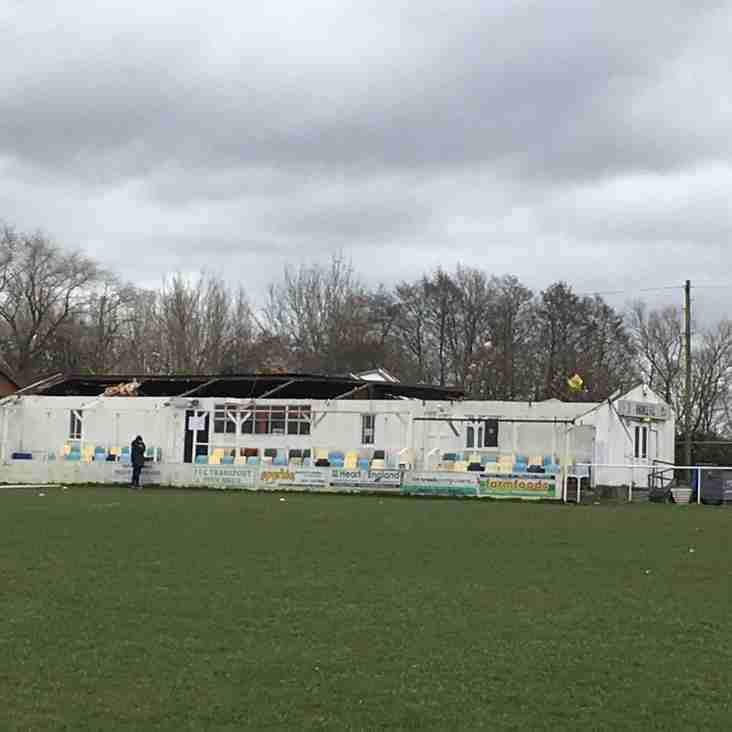 Community rallies to help Knowle FC recover after devastation.