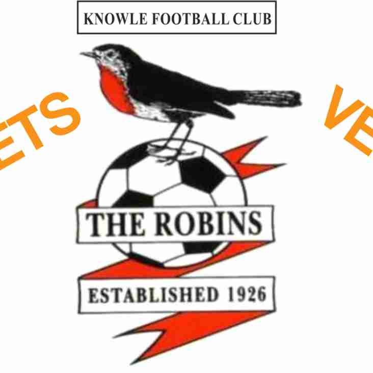 Knowle Vets secure win in their first game of the season