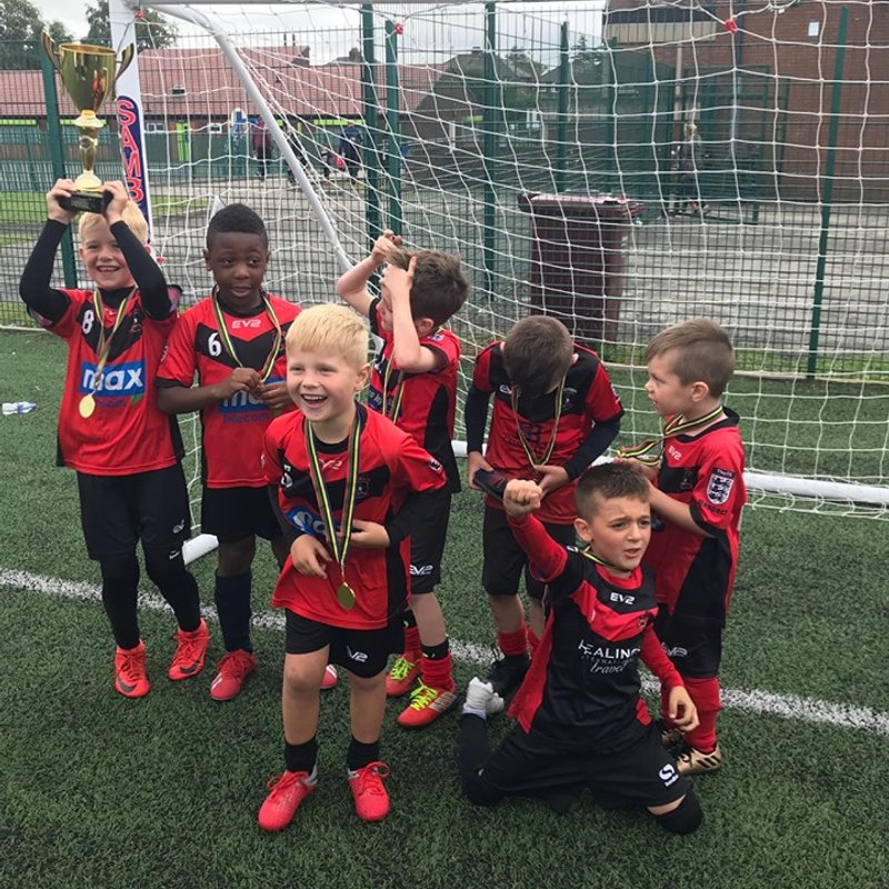 U6s - Jogabola Tournament Champions!