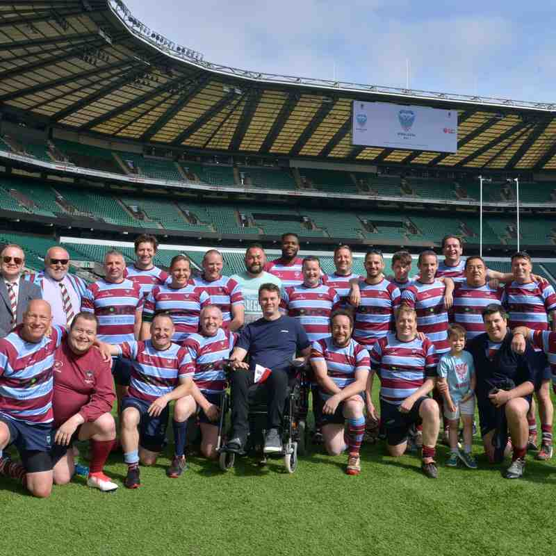 Strollers v Hammers Twickenham Stadium 9th June 2018