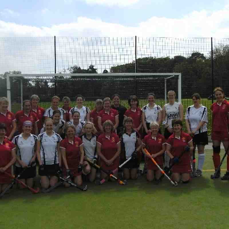 Leamington Ladies  V's  England O40's