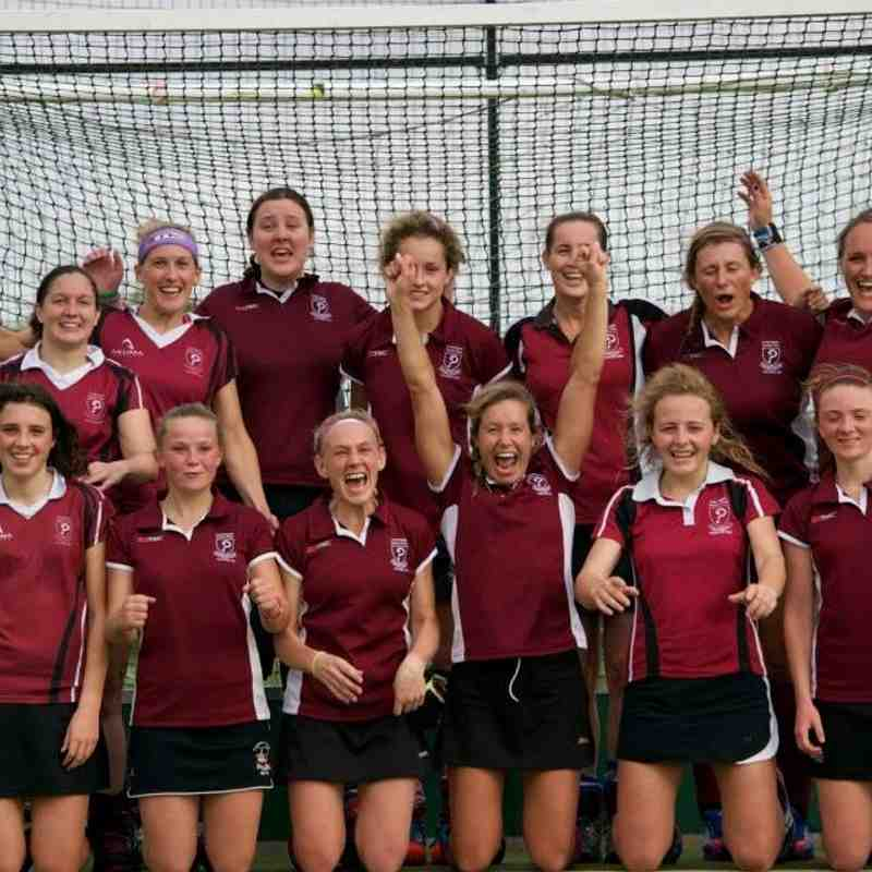 Ladies 1's V's North Saints
