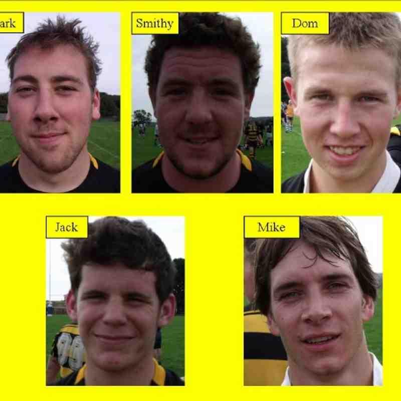 Men's Team Players