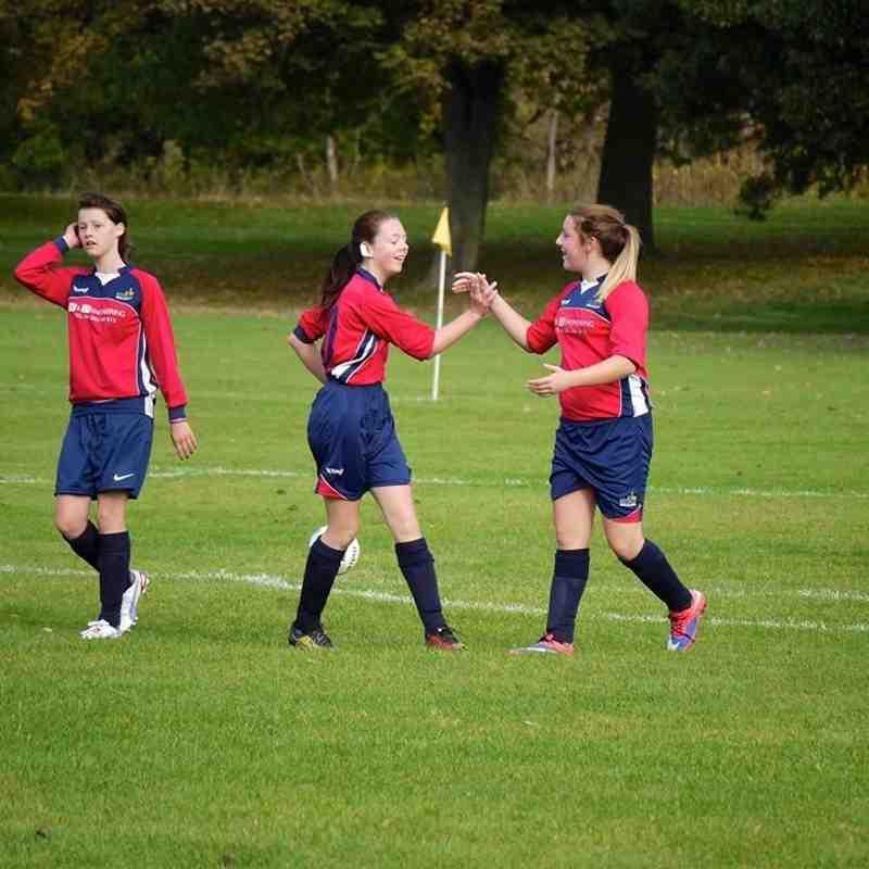 Girls u14 - Belles v ASHBOURNE AZTECS - 17th October 2015