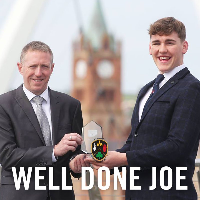 Ulster Provincial Player of the year Joe Dunleavy