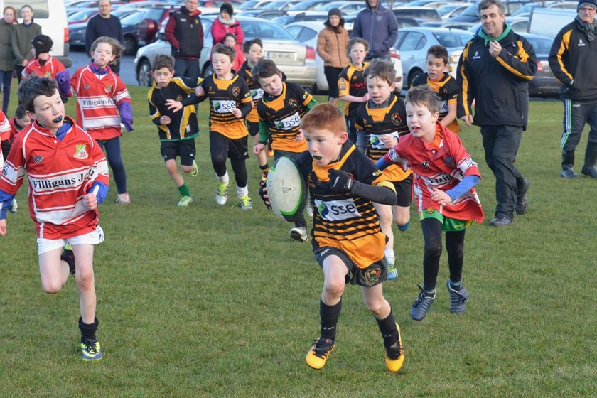 New Season starts for Letterkenny Mini Rugby players
