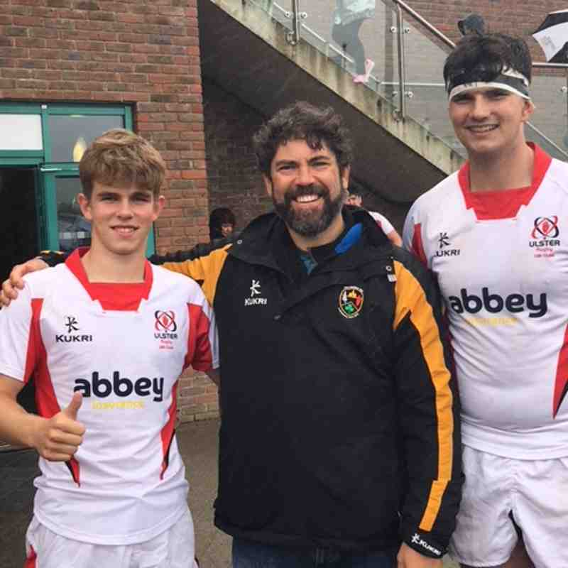 Letterkenny Ulster players
