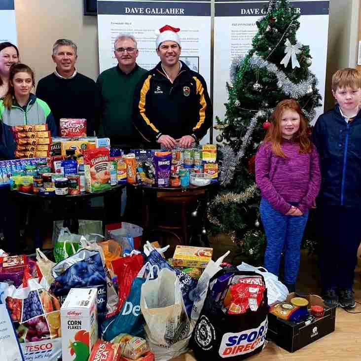 Christmas 'We Care' Food drive and coffee morning