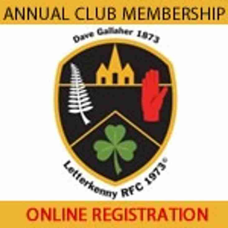 All Memberships now due