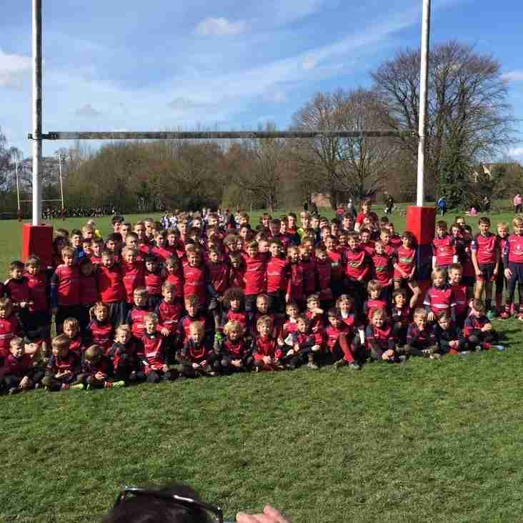 Mini and Junior Rugby at Wisbech RUFC