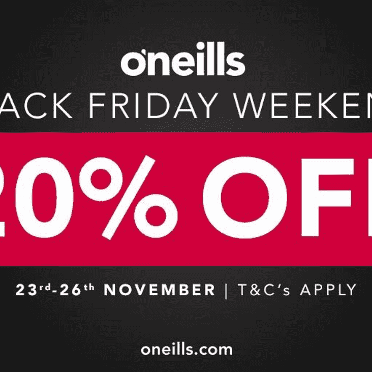 Black Friday Deals with O'Neills!