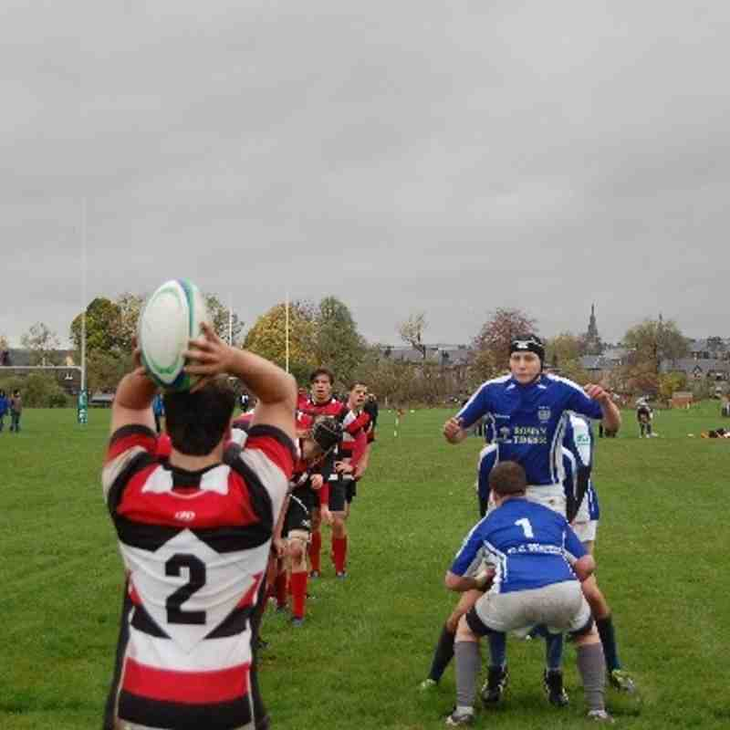 Stirling County v Colts 2-11-13