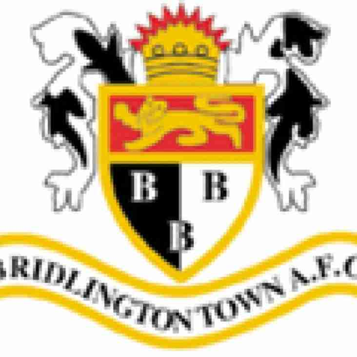 First Team vs Bridlington Town (A) - Saturday 25th August